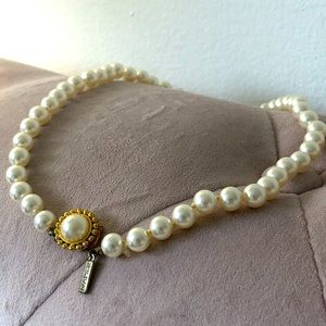 NAPIER| VINTAGE Synthetic Pearl Necklace